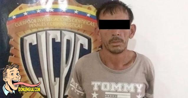 Chavista encarcelado en el Táchira por abusar de su hijastra de 13 añitos