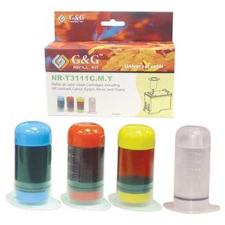 Ink Refilling Kit.