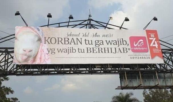 Ini Klarifikasi Rabbani soal Iklan Kambing Berhijab