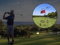 PinSensor Technology on TecTecTec VPRODLX and VPRODLXS golf rangefinders