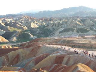 Gunung Zhangye Danxia