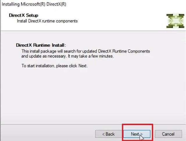 تحميل برنامج Directx 11 برابط مباشر