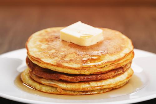 Fluffy Vanilla Pancakes Fresh Eggs Daily
