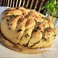Chlebek ziołowo- czosnkowy do odrywania