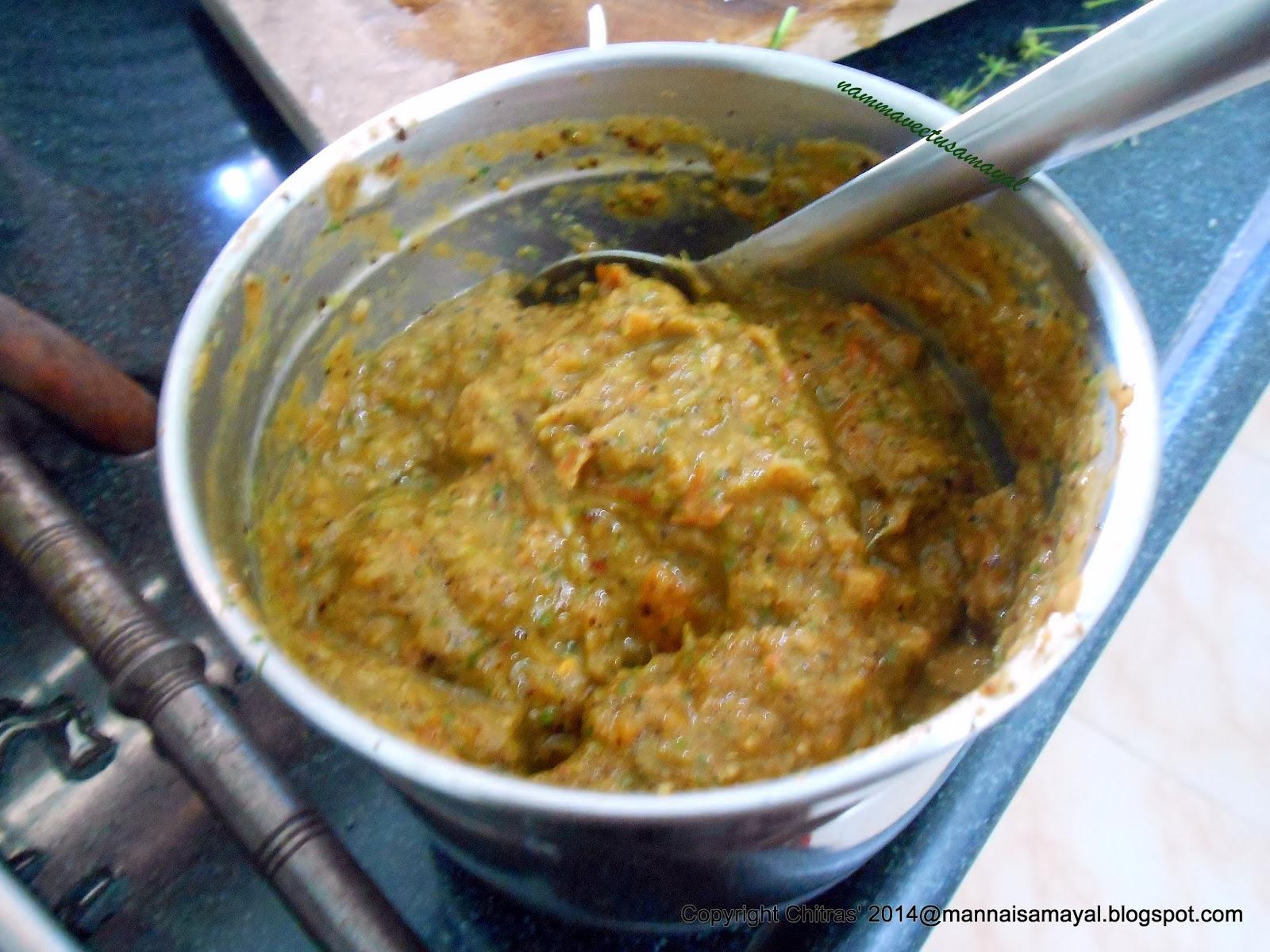 Tomato Kothamalli Chutney [ Tomato Coriander leaf chutney ]