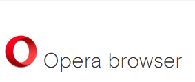 A fast, efficient browser. Opera browser for your Android device.