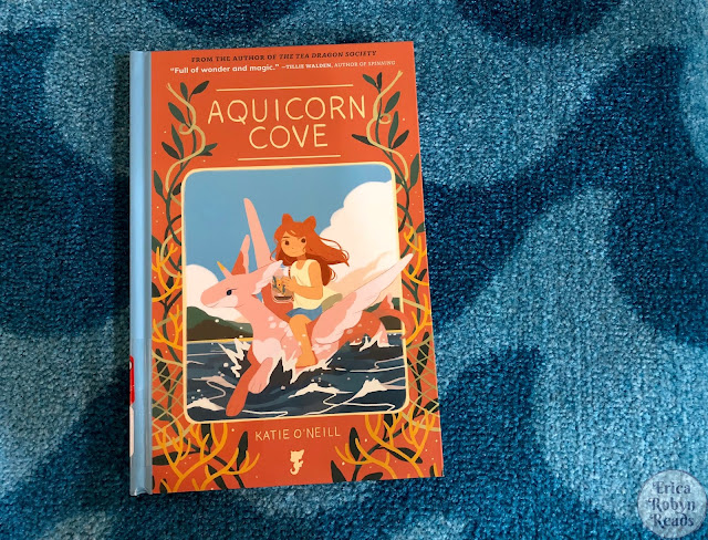 Graphic Novel Review of Aquicorn Cove by Katie O'Neill