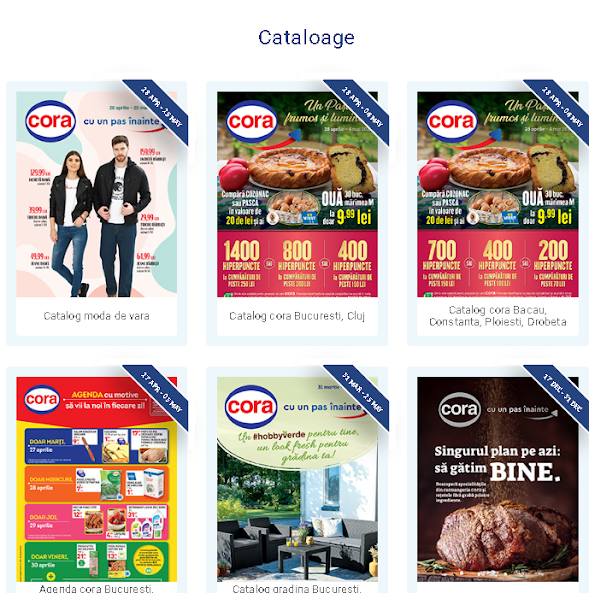 CORA  Cataloage - Brosuri 1-31.05 2021 → HiperOferte