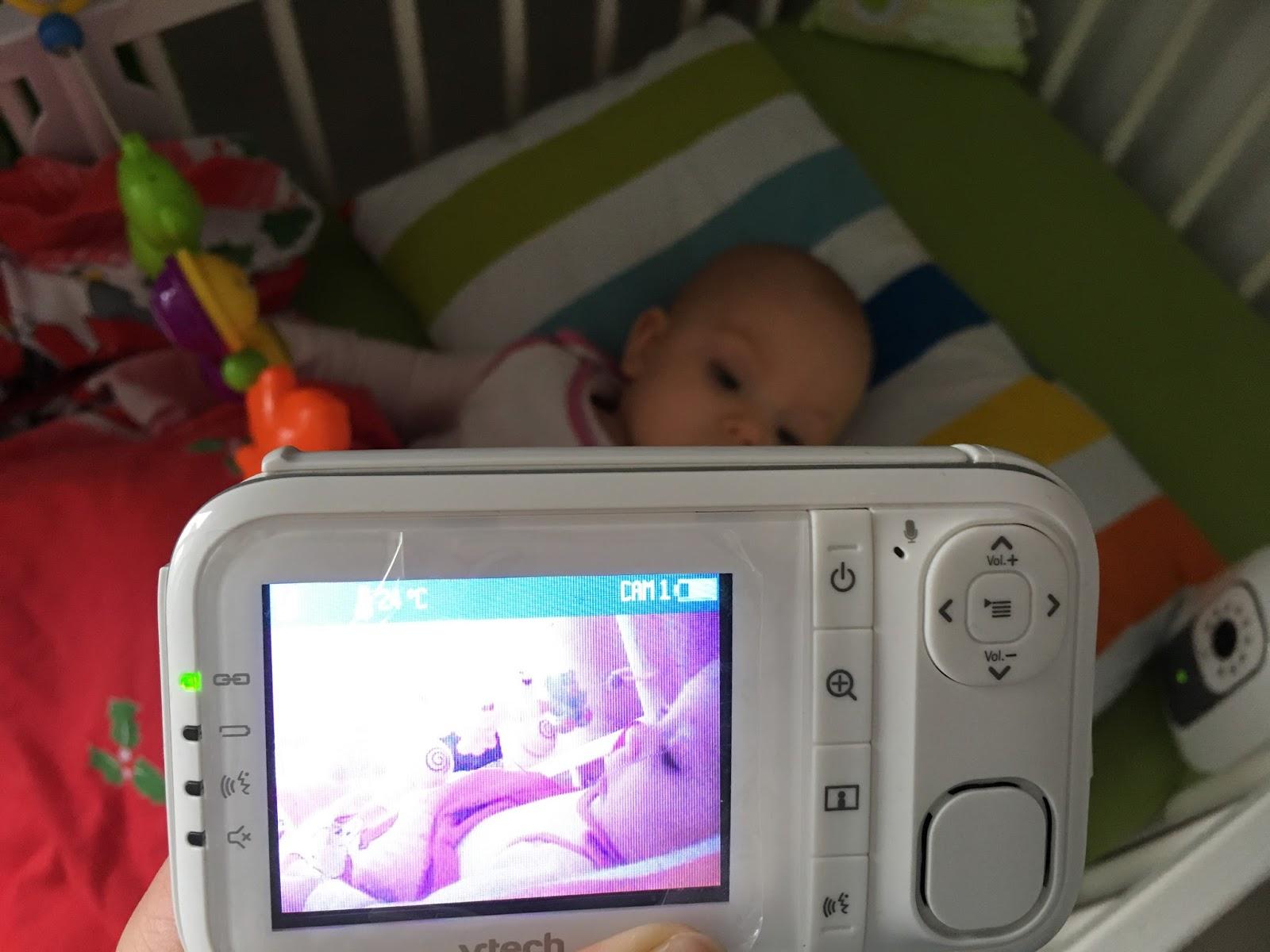 niania elektroniczna z kamerą