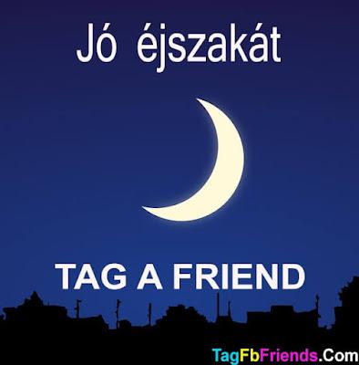 Good Night in Hungarian language