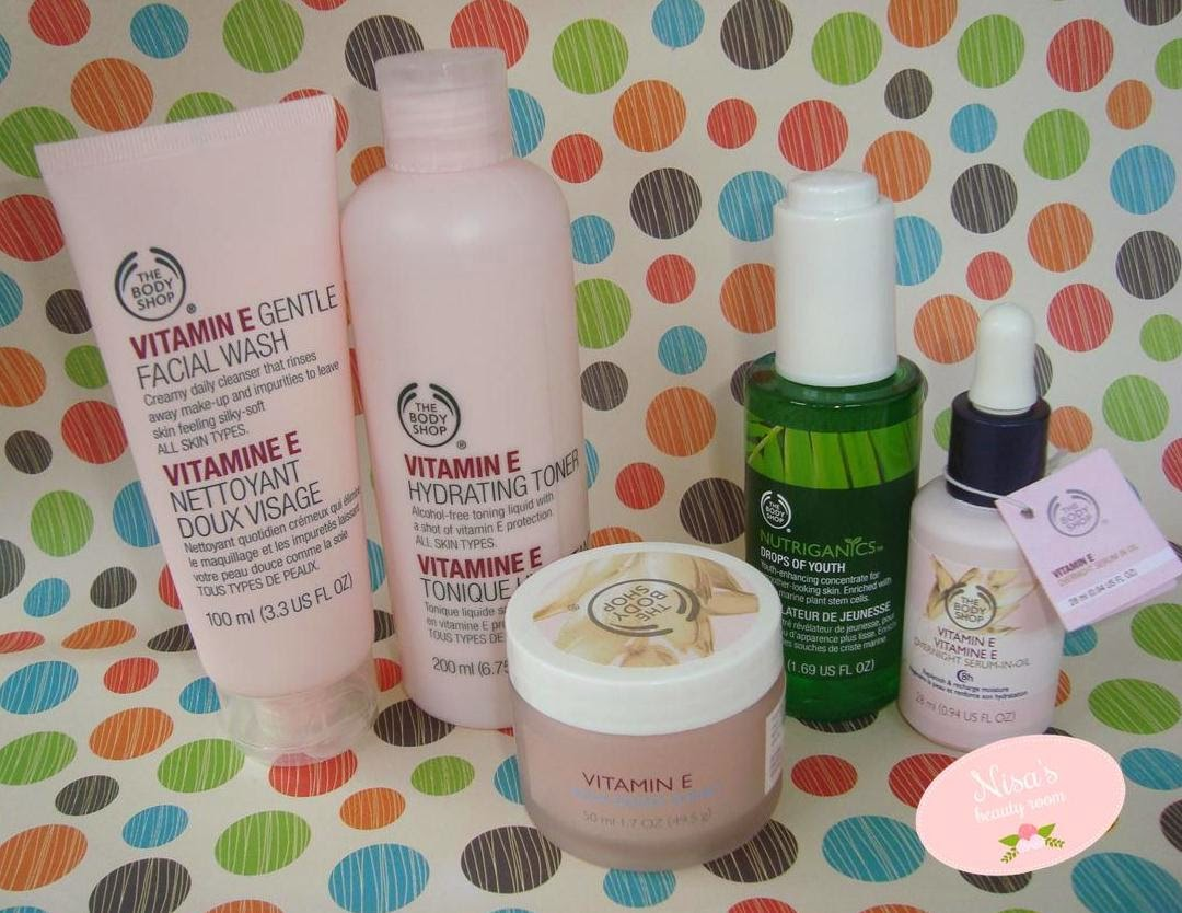 Review The Body Shop Vitamin E Series