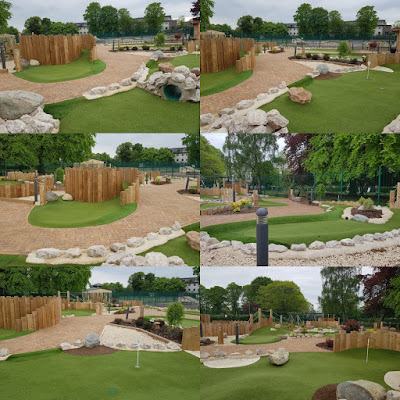 Adventure Golf at The Leys Recreation Ground in Witney, Oxfordshire