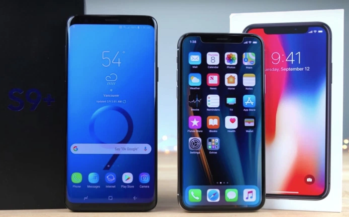 Core Differences Between Samsung S9 Plus VS Iphone 8 Plus