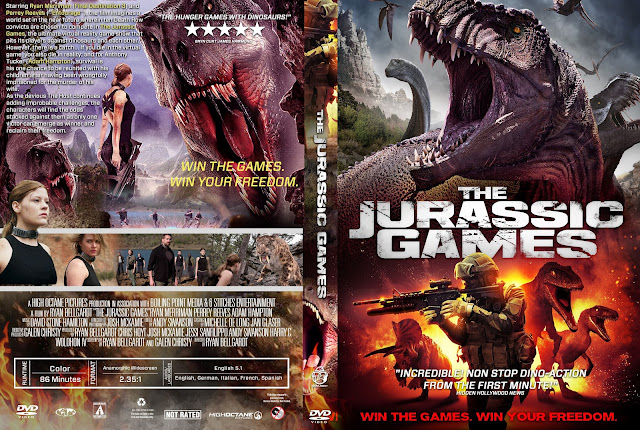 The Jurassic Games DVD Cover
