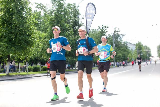 Андрей Думчев, марафон, Томск, пейсмейкеры