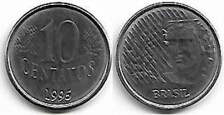 10 centavos, 1995
