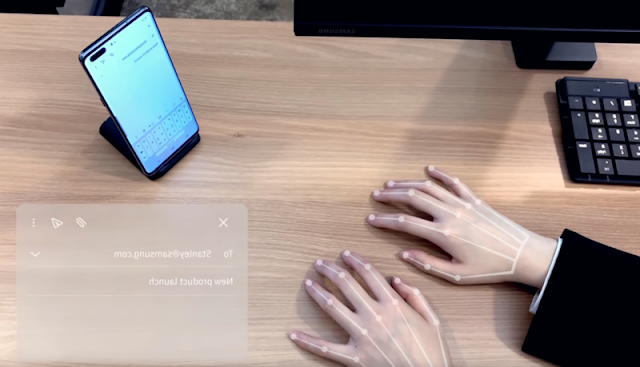 Samsung's new Invisible AI Keyboard