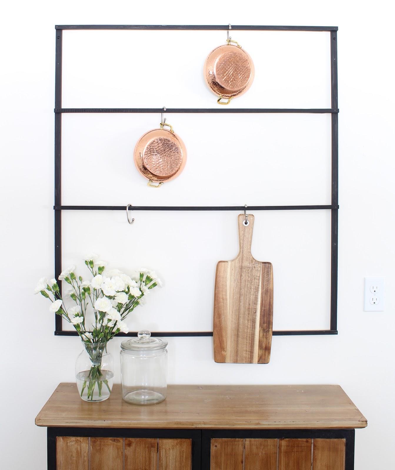 DIY-wall-mounted-pot-rack-1