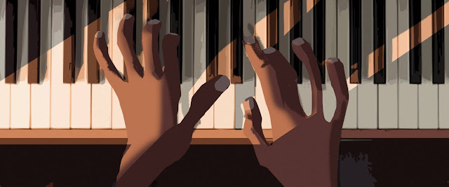 Pixar Soul Piano Concept Artwork by Grant Alexander