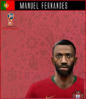 PES 6 Faces Manuel Fernandes by Dewatupai