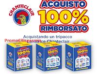 Logo Chanteclair ''Acquisto 100% rimborsato'' operazione cashback