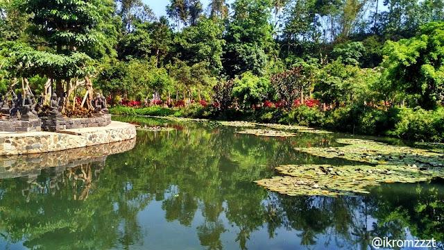 kolam teratai lembah tumpang resort