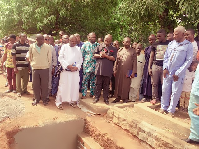 Former NITEl Executive Director ,Adaa Maagbe Buried Mother (SEE PHOTOS)