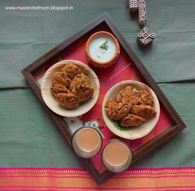 Tea Kadai Masal Vadai | Street Style Masala Vadai Recipe