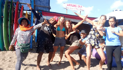 Cheap surfing lesson canggu Bali