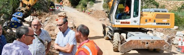 Ampliada la cv-207 entre Puebla de Arenoso y Los Calpes para mejorar la seguridad vial