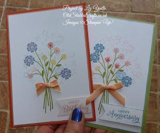 Subtle Sundays Beautiful Bouquet Card