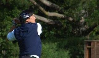 Ming Tsai Golf Swing