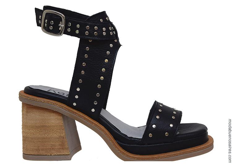 Sandalias y zapatos primavera verano 2020.