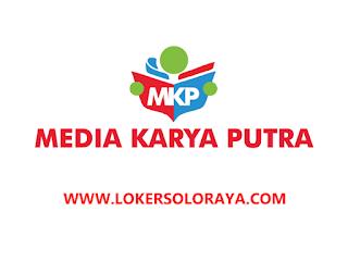 Lowongan Kerja Kartasura Desainer Grafis dan Staff Marketing di CV Media Karya Putra