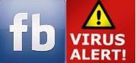 facebook virus alert
