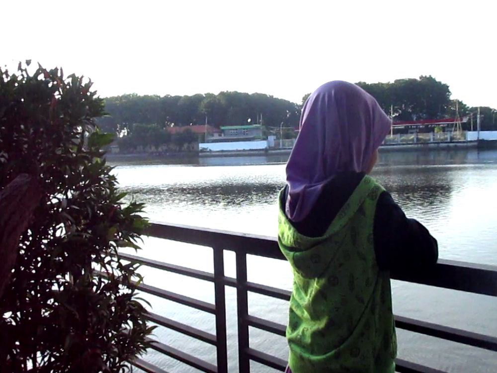 Danau Masjid Baiturrozaq SIER Surabaya