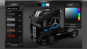 MB Actros colored by gracek23