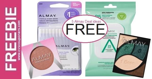 Mega Almay Makeup Freebie Deal at CVS