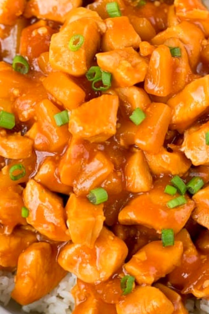 Delicious Instant Pot Hawaiian Chicken Flavorful Dish