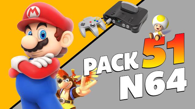 Pack Portable 51 Roms N64