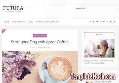 futura blogger template