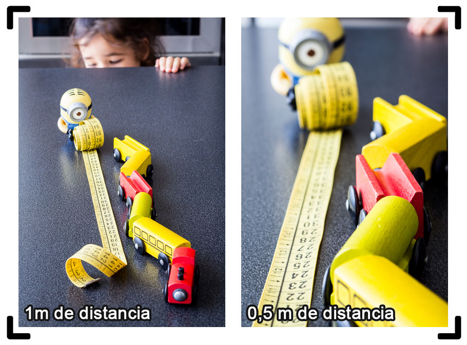 PdC según distancia