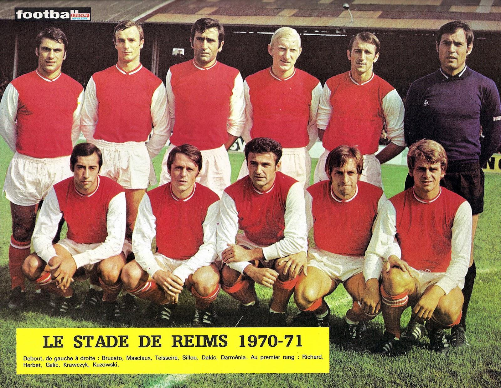stade de reims 1970 71 by ageducatifs the vintage football club. Black Bedroom Furniture Sets. Home Design Ideas