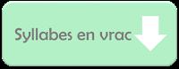 Syllabes en vrac - Jardin d'Ortho