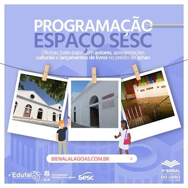 Artistas de Alagoas são destaque na programação do Sesc na 9ª Bienal