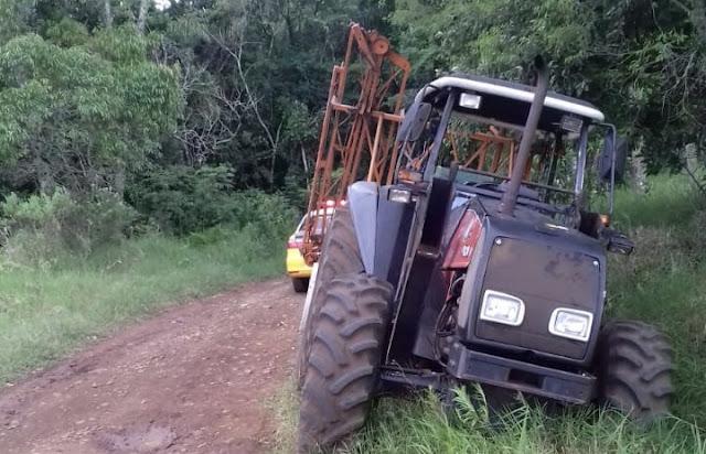 Pitanga: Homem morre em acidente com trator