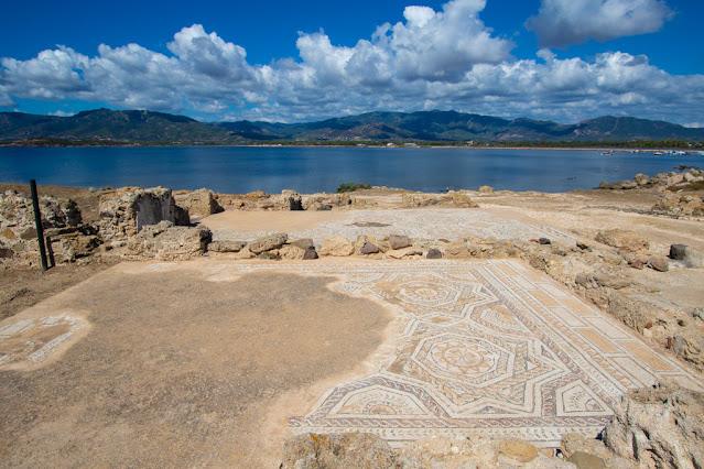Area archeologica di Nora-Mosaici