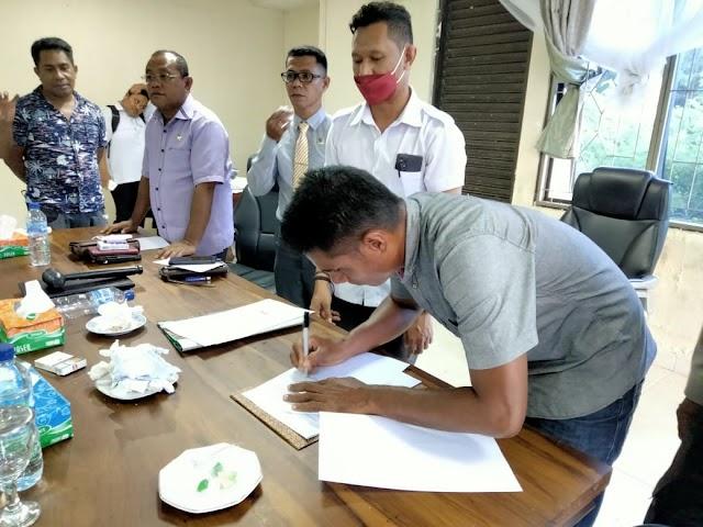 Direktur PT. Surya Nusantara Selatan : Saya Siap Bayar Hutang Material Masyarakat
