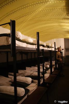 Alcune camerate nel bunker di Hatten