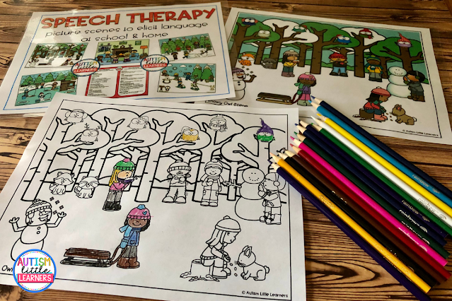 speech-therapy-picture-scenes
